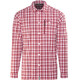 Meru Bossost - Chemise manches longues Homme - rouge